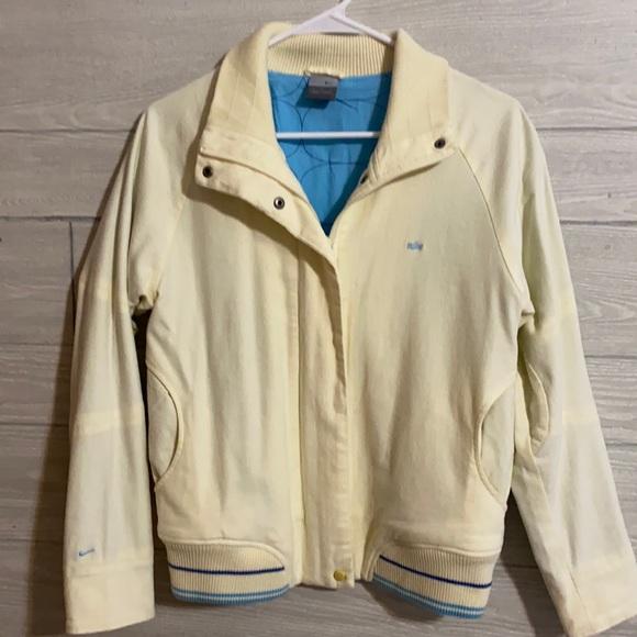 Nike vintage varsity bomber style jacket. Size M